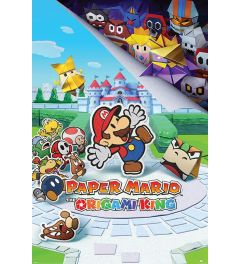Paper Mario The Origami King Poster 61x91.5cm