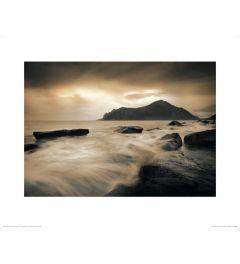 Sepia Meer - Lofoten Island