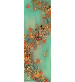 Lily Greenwood Poster Chinese Green 30x91.5cm