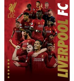 Liverpool FC Players 2019-2020 Poster 40x50cm