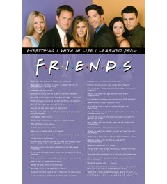 Friends Everything I Know Poster 61x91.5cm
