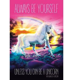 Unicorn Always Be Yourself Poster 61x91.5cm