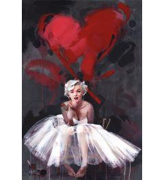 James Paternson Marilyn Monroe Poster 61x91.5cm