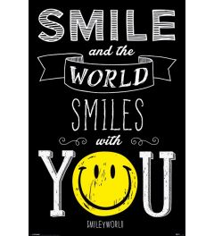Smiley World Smiles With You Poster 61x91.5cm