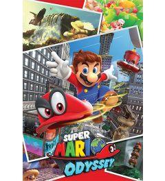 Super Mario Odyssey Collage