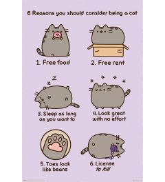 Pusheen Reasons to be a Cat