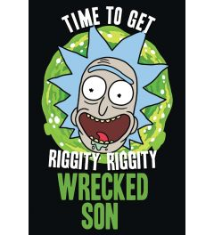 Rick and Morty Wrecked Son