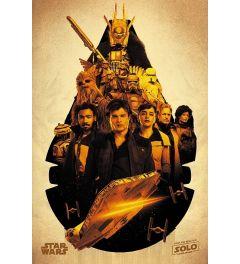 Solo: A Star Wars Story Millennium Falcon Montage