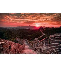 Die Chinesische Mauer mit sonnenuntergang Poster 61x91.5cm
