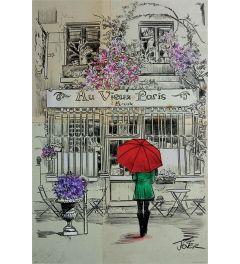 Loui Jover Au Vieux Paris Poster 61x91.5cm