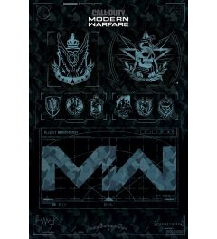 Call Of Duty Modern Warfare Fractions Poster 61x91.5cm