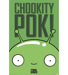 Final Space Mooncake Chookity Pok Poster 61x91.5cm
