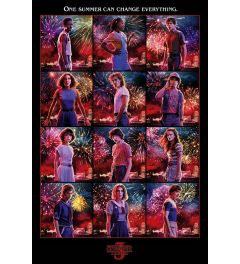 Stranger Things Character Montage Poster 61x91.5cm