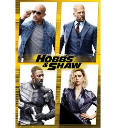 Fast & Furious Presents Hobbs & Shaw Cast Poster 61x91.5cm