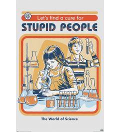 Steven Rhodes Let's Find A Cure Poster 61x91.5cm