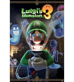 Luigi's Mansion 3 You're in for a Fright Poster 61x91.5cm