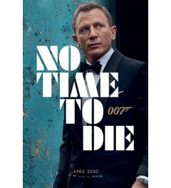 James Bond No Time To Die Azure Teaser Poster 61x91.5cm