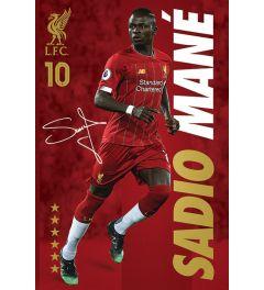 Liverpool FC Sadio Mane Poster 61x91.5cm