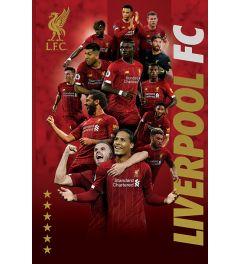 Liverpool FC Spieler 2019-20 Poster 61x91.5cm