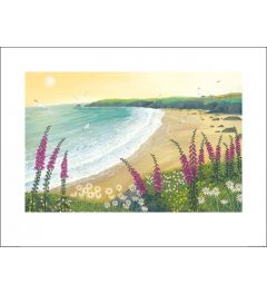 Jo Grundy - Dawn Over Foxglove Bay