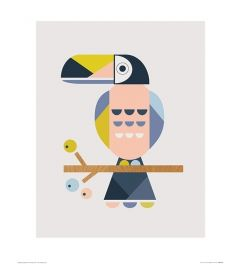 Tukan Art Print Little Design Haus 40x50cm