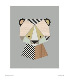 Bär Art Print Little Design Haus 40x50cm