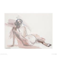 Ballett Sonntag Art Print Aimee Del Valle 40x50cm