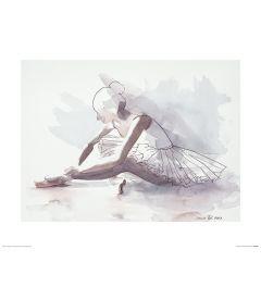 Ballett Der anfang Art Print Aimee Del Valle 40x50cm
