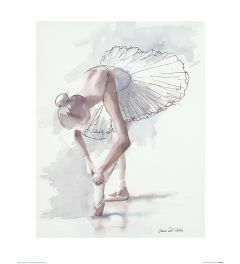 Ballett Lampenfieber Art Print Aimee Del Valle 40x50cm