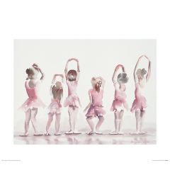Ballett Fünfte Position Art Print Aimee Del Valle 40x50cm