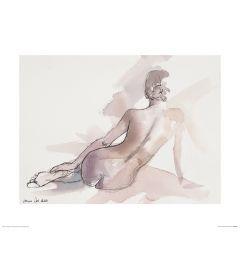 Ballett Samstag Art Print Aimee Del Valle 40x50cm