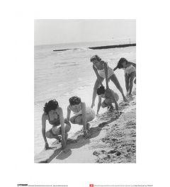 Models am Strand