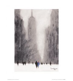 New York - Starker Schnee