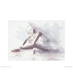 Ballett Der anfang Art Print Aimee Del Valle 30x40cm
