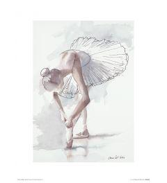 Ballett Lampenfieber Art Print Aimee Del Valle 30x40cm