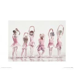 Ballett Fünfte Position Art Print Aimee Del Valle 30x40cm