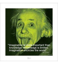 Albert Einstein - I quote - Imagination