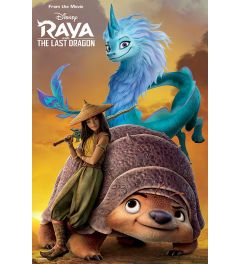 Raya And The Last Dragon Sunset Poster 61x91.5cm