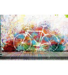 Fahrrad Graffiti Poster 61x91.5cm