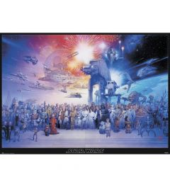 Star Wars Legacy Characters Poster 140x100cm