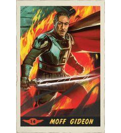 Star Wars The Mandalorian Moff Gideon Card Poster 61x91.5cm