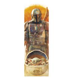 Star Wars The Mandalorian Poster 53x158cm