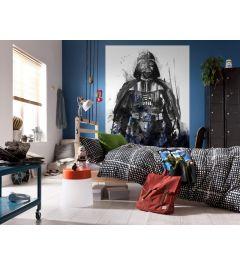 Star Wars Watercolor Vader 4-teilig Fototapete 200x280cm
