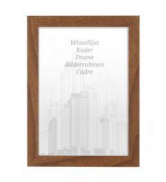 Bilderrahmen 30x30cm Eiche Braun - Holz