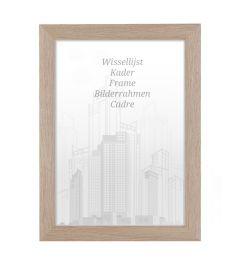 Bilderrahmen 40x40cm Honig - Holz