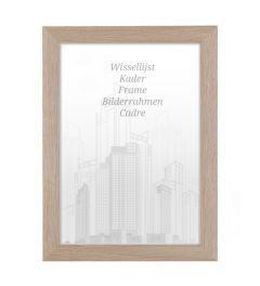 Bilderrahmen 50x50cm Honig - Holz