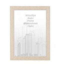 Bilderrahmen 60x60cm Eiche - Holz