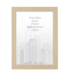 Bilderrahmen 50x50cm Natur - Holz