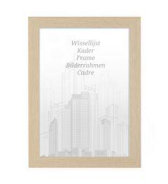 Bilderrahmen 70x70cm Natur - Holz