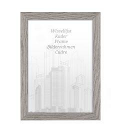 Bilderrahmen 60x60cm Felsgrau - Holz